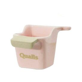 クオリス ポッタリー 衛生的な陶器の食器 101 ピンク 関東当日便