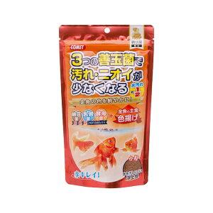 コメット 金魚の主食納豆菌 色揚げ 小粒 200g 関東当日便