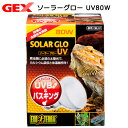 GEX エキゾテラ ソーラーグローUV 80W PT2334 関東当日便