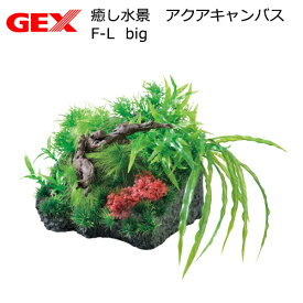 GEX 癒し水景 アクアキャンバス F-L big 関東当日便