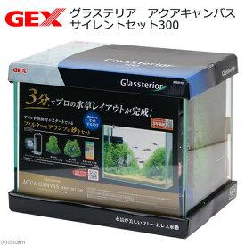 GEX グラステリア アクアキャンバス サイレントセット300 お一人様2点限り 沖縄別途送料 関東当日便