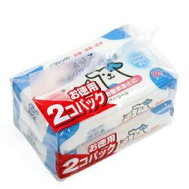 流せるウェットティッシュ 80枚×2個パック せっけんの香り 15袋入り 関東当日便