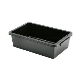 E−CON プラ箱 L20 ブラック(幅54.1×奥行き34.5×深さ15.6cm 約20L) お一人様2点限り 関東当日便