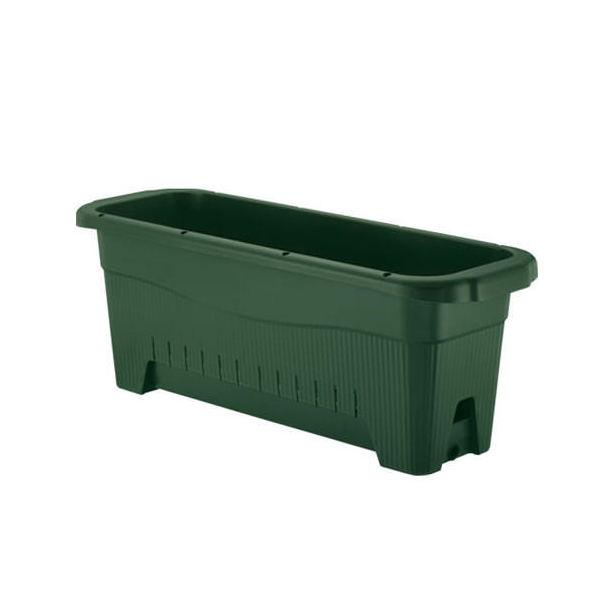 リッチェル 水ラク緑のカーテンプランター85型 プランター 底面給水 ベランダ菜園 家庭菜園 緑のカーテン ゴーヤ つる性 ガーデニング 関東当日便