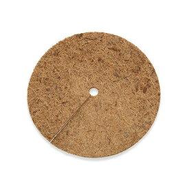 ヤシの繊維円盤マット 直径28cm マルチング バラ 10号 乾燥防止 雑草防止 関東当日便