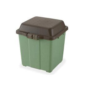 リッチェル ガーデニングカーゴ 65 グリーン コロ付き 収納庫  ガーデニング 小物収納トレー お一人様1点限り 同梱不可 関東当日便