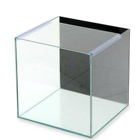 バックプリント BLACK アクロ30キューブN(30×30×30cm) 30cmキューブ水槽(単体) Aqullo お一人様1点限り 関東当日便