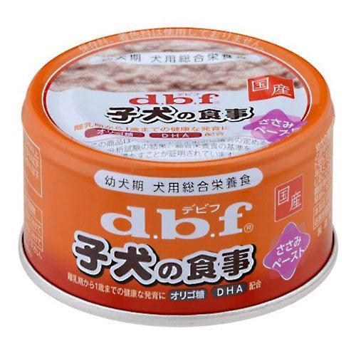 箱売り デビフ 子犬の食事 ささみペースト 85g 正規品 国産 ドッグフード 1箱24缶入 関東当日便