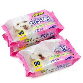 ジョイペット ウェットティッシュ お口・耳・目のまわり用 3個パック 12袋 犬 猫 ペット用ウェットティッシュ 関東当日便