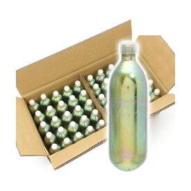 □Leaf CO2 ボンベ 74g 50本 炭酸ボンベ 汎用品 新瓶 二酸化炭素 50本 お一人様1点限り 沖縄別途送料 関東当日便