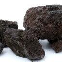 富士ノ溶岩石 S・M・Lサイズミックス(約4〜20cm)10kg 関東当日便