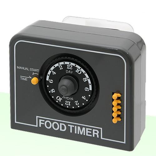 ニッソー  FOOD TIMER(フードタイマー)観賞魚用自動給餌器 グレー 関東当日便