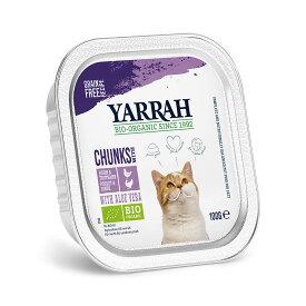 YARRAH ヤラー チキンとターキーのキャットチャンク 100g 正規品 キャットフード YARRAH ヤラー 関東当日便