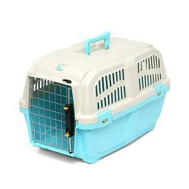 ドギーマン イタリア製ハードキャリー DOGGY EXPRESS M ブルー 犬 猫用キャリーバッグ 航空機対応(8kgまで) 関東当日便