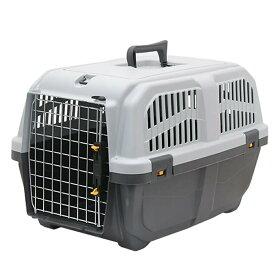 ドギーマン イタリア製ハードキャリー DOGGY EXPRESS L グレー 犬 猫 キャリーバッグ 航空機対応 関東当日便