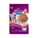 コンボ 毛玉対応 11歳以上 かつお味・かつおチップ・かつお節 600g(120g×5袋) キャットフード 超高齢猫用 …