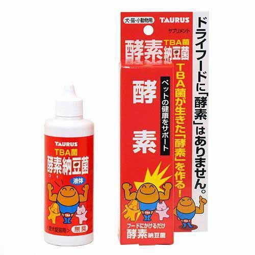 トーラス 犬猫用 酵素納豆菌 100ml 犬 サプリメント 関東当日便