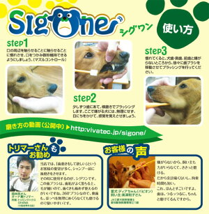 ビバテックシグワン超小型犬用歯ブラシ