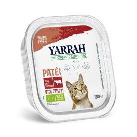 YARRAH ヤラー ビーフとチコリーのキャットパテ 100g 正規品 キャットフード YARRAH ヤラー 関東当日便