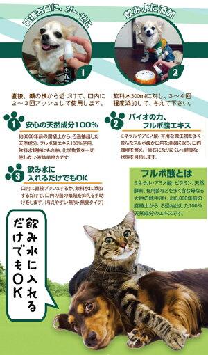 ビバテックNEWハミガキサプリ20ml犬猫デンタルケアスプレー