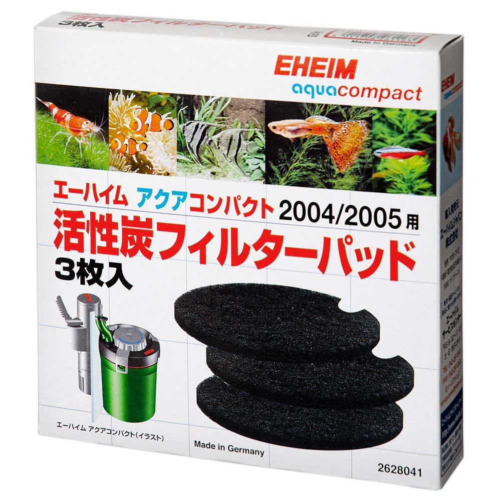 エーハイム アクアコンパクト2004/2005用 活性炭フィルターパッド 3枚入 関東当日便