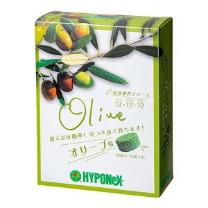 ハイポネックス 錠剤肥料シリーズ オリーブ用 60錠 追肥 化成肥料 緩効性 錠剤 オリーブ 関東当日便