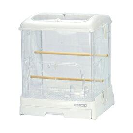 三晃商会 SANKO イージーホーム クリアバード 35WH(ホワイト)(360×340×430) 鳥 ケージ 鳥かご 関東当日便