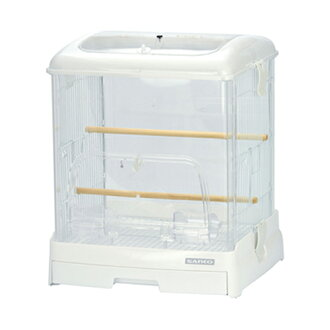 SANKO easy home クリアバード 35 white ( 360 × 340 × 430 ) bird cages birdcage Kanto day flights.