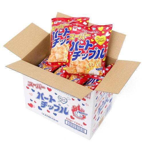 食品 ハートチップル 63g 12袋入り 関東当日便