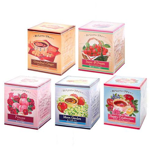 食品 アソート 生活の木 おいしいハーブティーセット A 5種5箱(10パック入り×5個) 関東当日便
