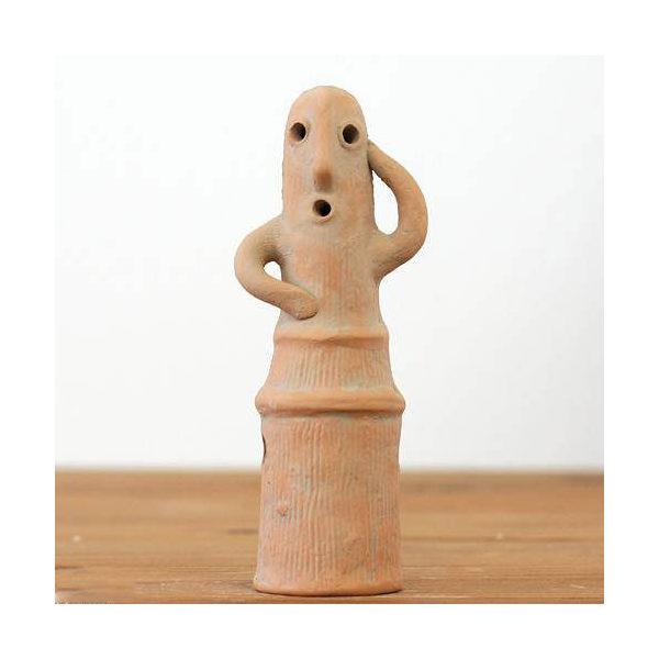 ハニワの踊る埴輪 (男性)(高さ15.8cm) 水槽用オブジェ アクアリウム用品 関東当日便