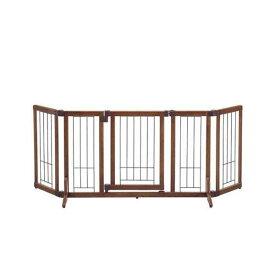 同梱不可・中型便手数料 リッチェル 木製おくだけドア付ゲート M 才数180