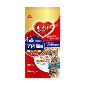 ビューティープロ キャット 成猫用 チキン味 600g(100g×6袋) キャットフード 関東当日便
