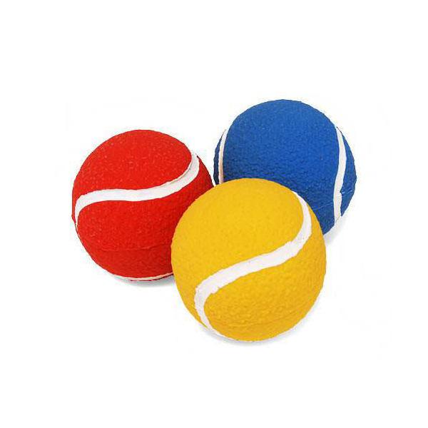 サンジョルディ テニスボール 1個(色おまかせ) 犬 犬用おもちゃ 関東当日便