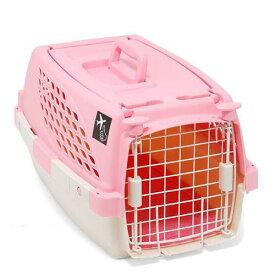 ペットスイート S ピーチ(中敷マット付) 小型犬 猫 うさぎ キャリーバッグ キャリーケース クレート(4.5kgまで) 関東当日便