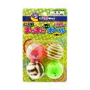 キャティーマン じゃれ猫 まぜまぜニャンボール 4個セット 猫 猫用おもちゃ ボール 関東当日便
