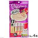 いなば CIAO(チャオ) ちゅ〜る 11歳からのとりささみ 14g×4本 猫 おやつ CIAO チャオ 超高齢猫用 ちゅーる 関東当日便