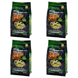 スドー フロッグソイル 2.5kg 爬虫類 底床 敷砂(両生類用)4袋入り お一人様1点限り 関東当日便