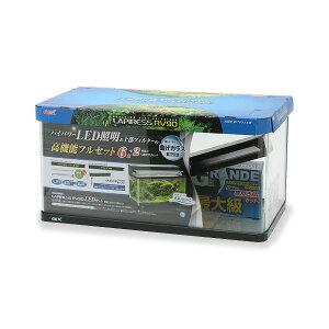 □同梱不可・中型便手数料 GEX 90cm水槽セット ラピレスRV90 LEDセット アクアリウム 才数200