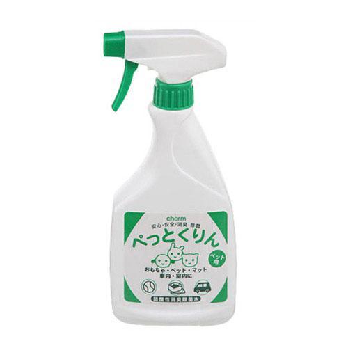 弱酸性消臭除菌水 ぺっとくりん ペット用 500ml + ワイプオール X60 ハンディーワイパー セット 関東当日便