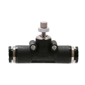 ピスコ製 チャームオリジナル スロットバルブ(スピコンL) 低流量タイプ ブラック 超低流量でも微調整が簡単 関東当日便
