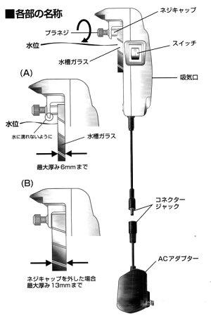 ニッソークールファンスリム水槽用冷却ファン【HLS_DU】関東当日便