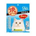 箱売り いなば CIAO(チャオ) 焼かつお おかか味 5本入り×16袋 猫 おやつ 関東当日便