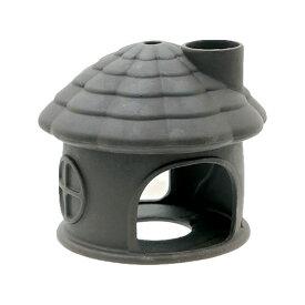 いぶきエアストーン 水中ハウス(煙突あり) ダーク 水槽用オブジェ アクアリウム用品 関東当日便