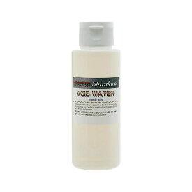 シラクラ ACID WATER(アシッドウォーター) 100ml ビーシュリンプ フルボ酸 フミン酸 エビ 飼育 関東当日便