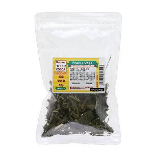 国産 空芯菜 みじん切り 10g 犬用おやつ PackunxCOCOA フルーツ&ベジ 蒸し野菜 関東当日便