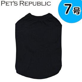PET'S REPUBLIC スタンダードTシャツ 7号 ブラック 関東当日便