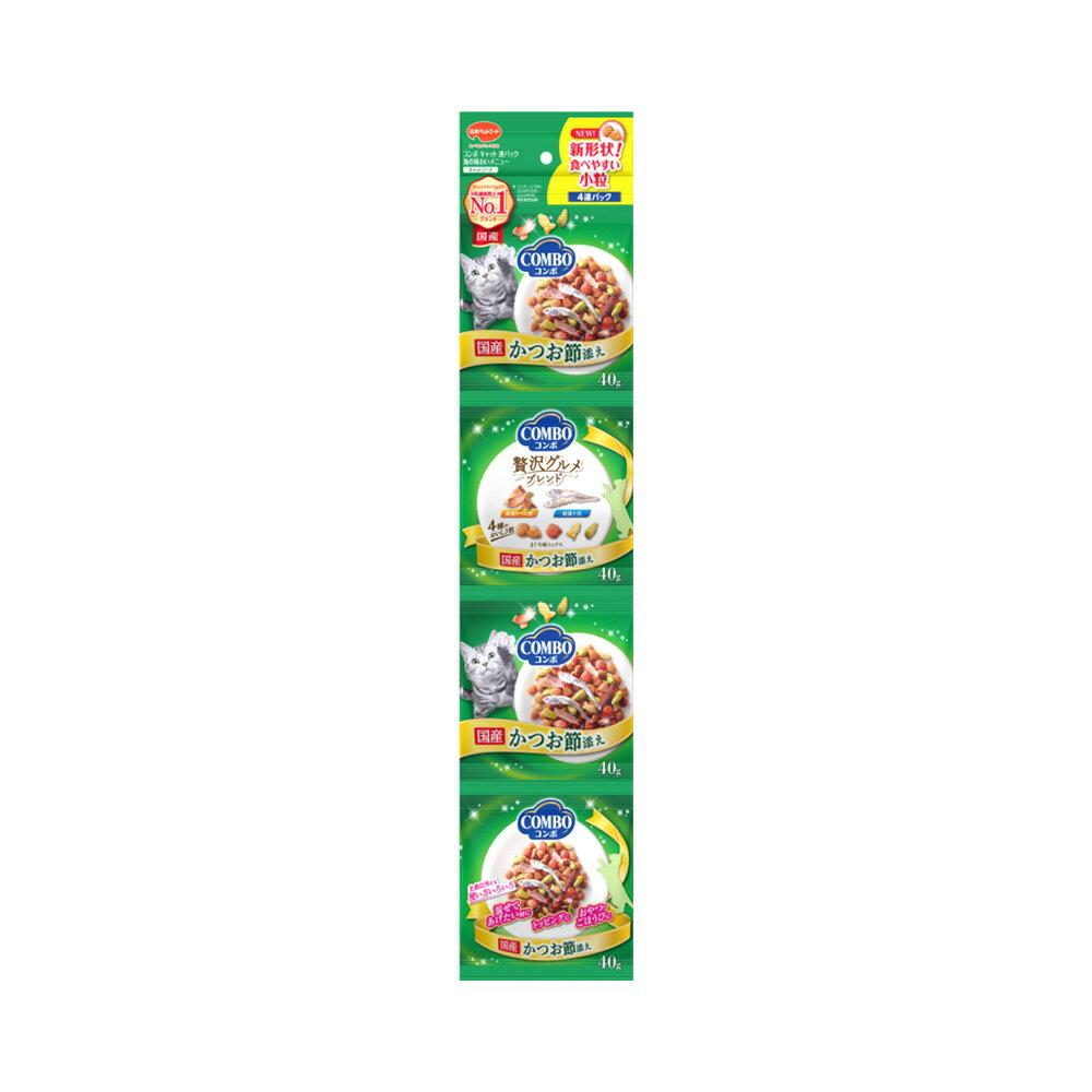 コンボ連パック 海の味わいメニュー かつおぶし添え 160g(40g×4連)10袋 関東当日便