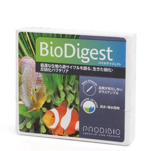 BIO DIGEST バイオダイジェスト(淡水・海水両用) 6本 バクテリア 熱帯魚 観賞魚 関東当日便