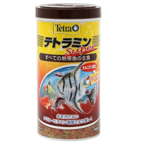テトラミンスーパー 200g 熱帯魚 餌 関東当日便
